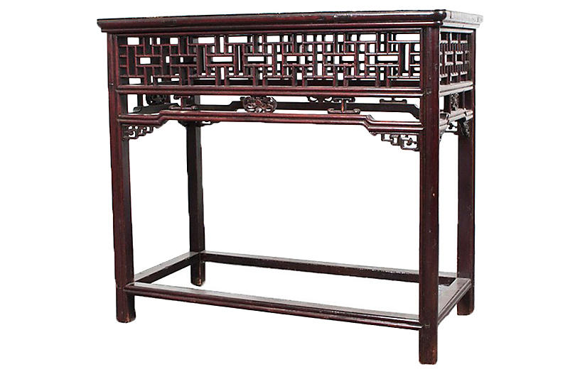 Antique Chinese Console/Altar Table