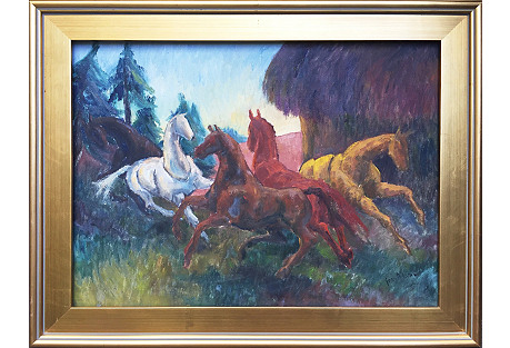 Horses by Joan Adams
