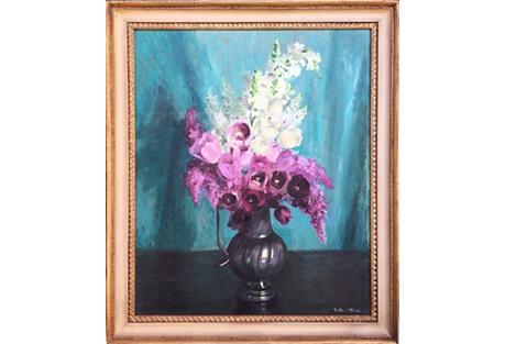 Floral Still Life, 1950