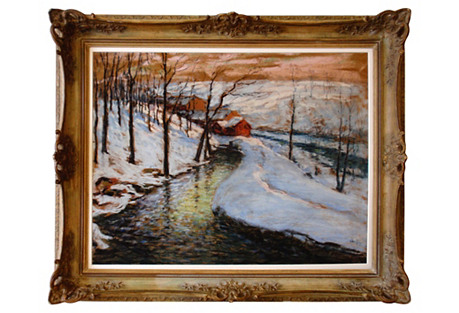Winter Landscape by Fred Wagner