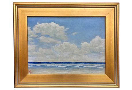 Seascape by H.W. Pond, 1937