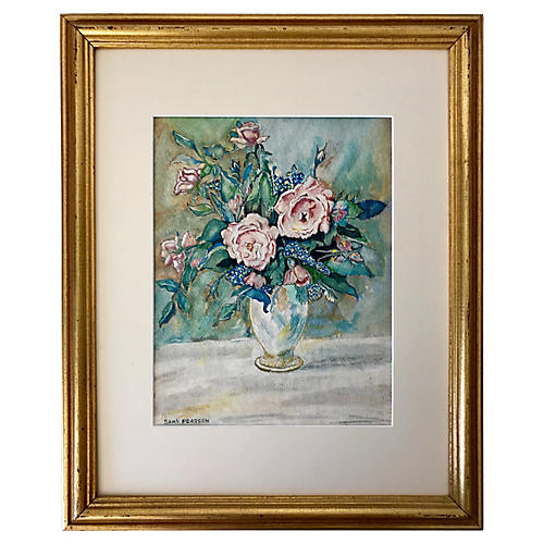 Floral Still Life by S. L. Pearson