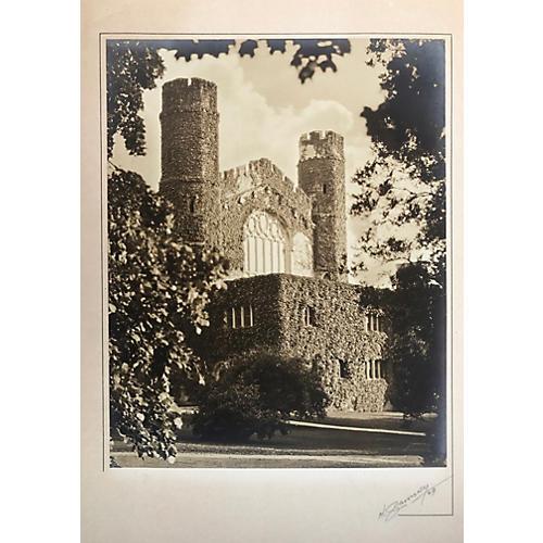Gothic Building Photograph, 1929