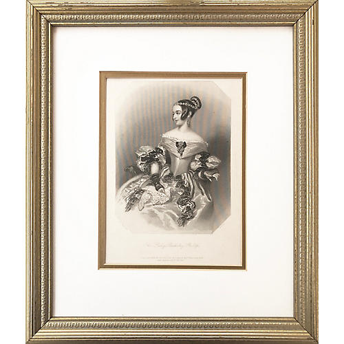 Lady Bulkeley Phillips by Knight, C.1840