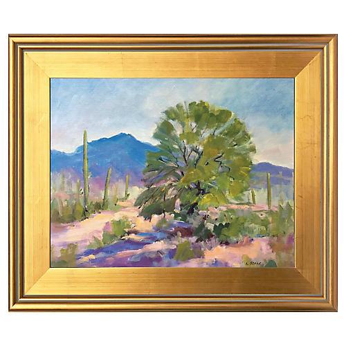 Buckeye Arizona Mesquite Tree by Scola