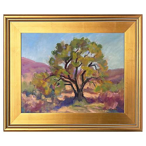 Mesquite Tree by Linda Scola