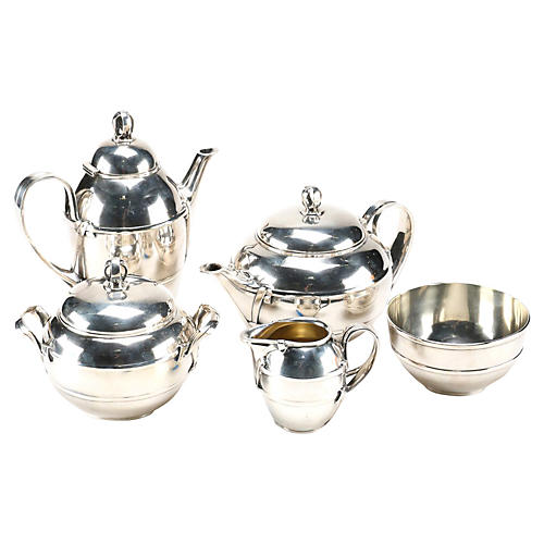 Ercuis French S/P Tea & Coffee Set 1937