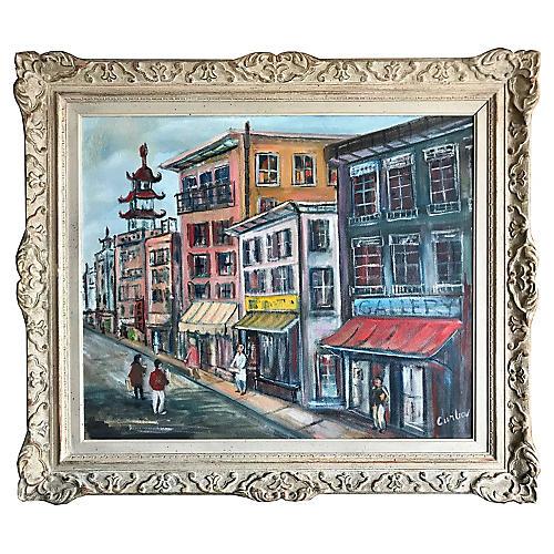 Midcentury San Francisco Chinatown