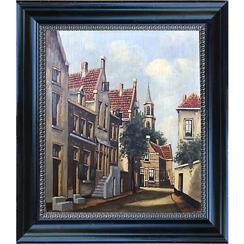 Dutch Street Scene