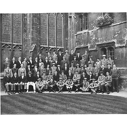 Oxford University Class photo 1906