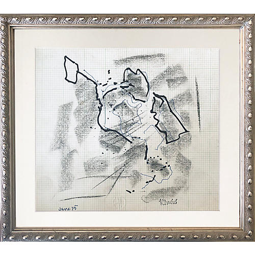 Abstract Drawing by Harold Davies