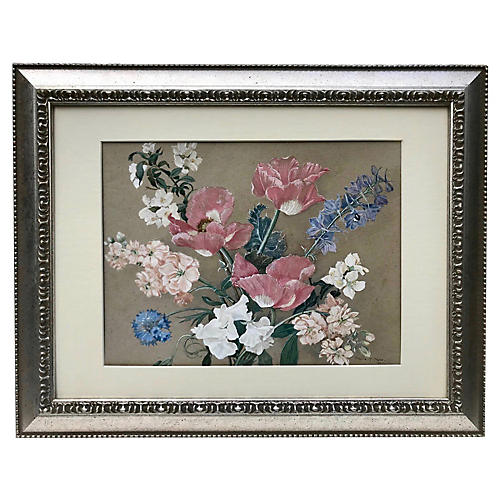 Floral Still Life, 1943