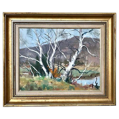 Landscape by Harry Barton