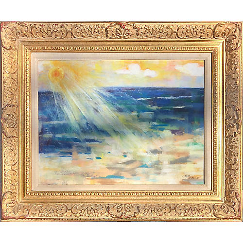 Expressionist Seascape