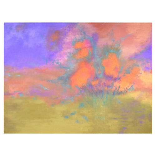Large Abstract Expressionist Painting