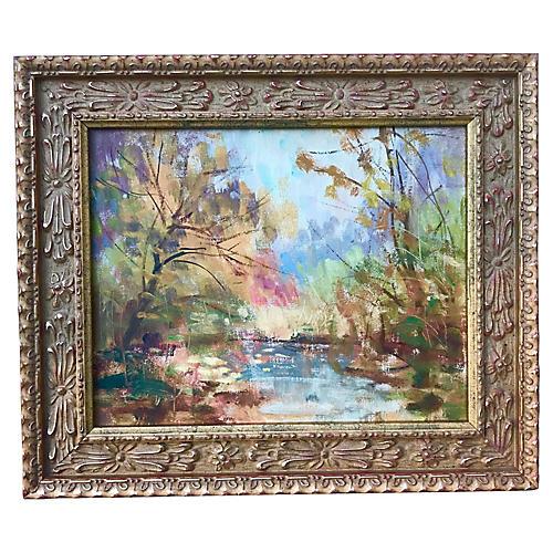 Impressionist OIl Painting Harry Barton