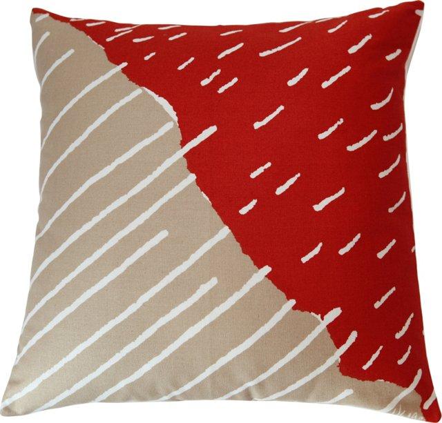 Vera Abstract Pillow