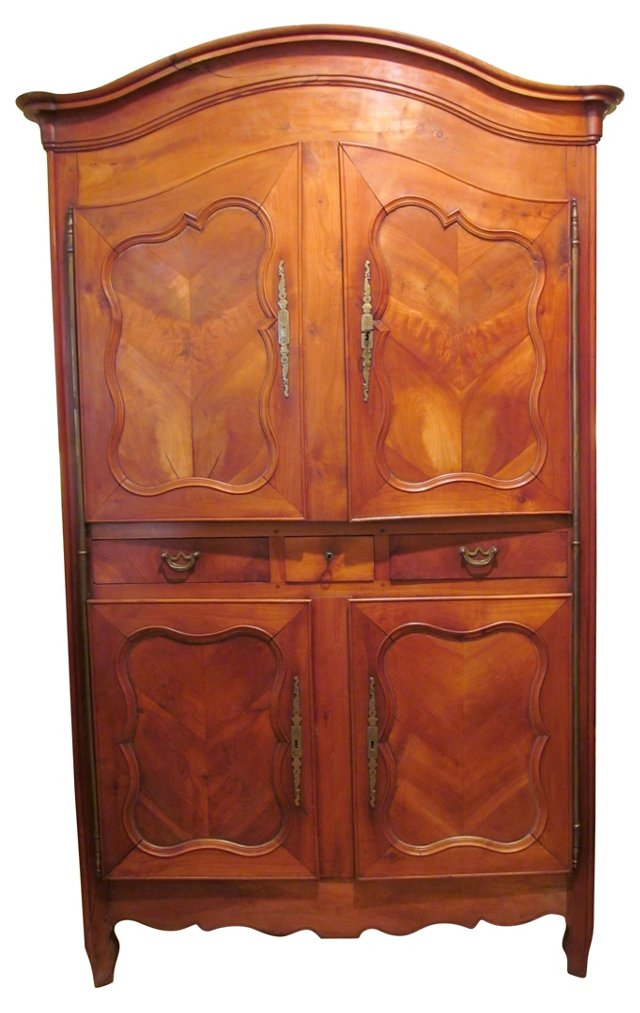Late-18th-C. French Armoire