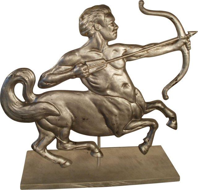 Centaur Plaque on Stand
