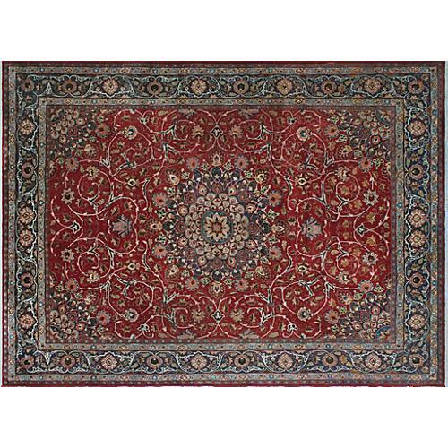 """Tabriz Carpet, 9'5"""" x 12'5"""""""
