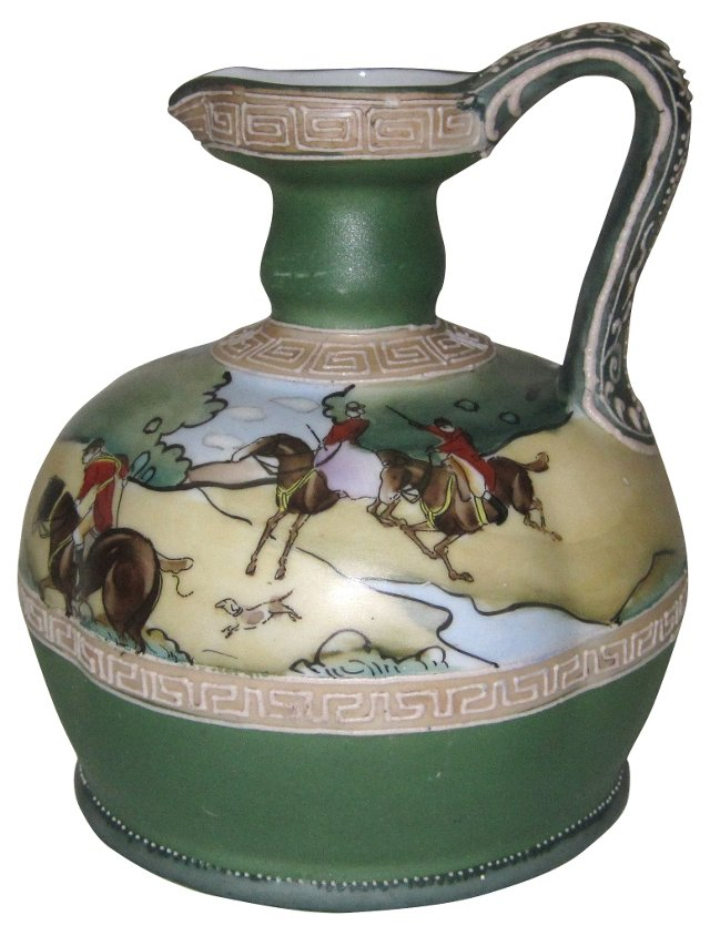 English Fox Hunt  Jug, C.1891
