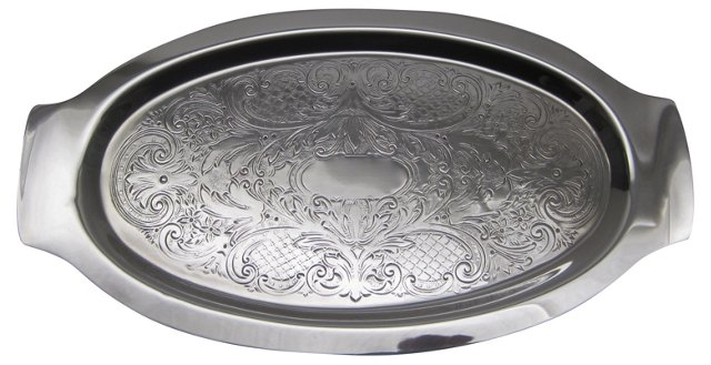 Engraved Dresser Tray