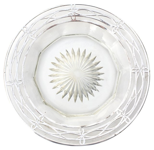 American Cut-Glass & Sterling Plate