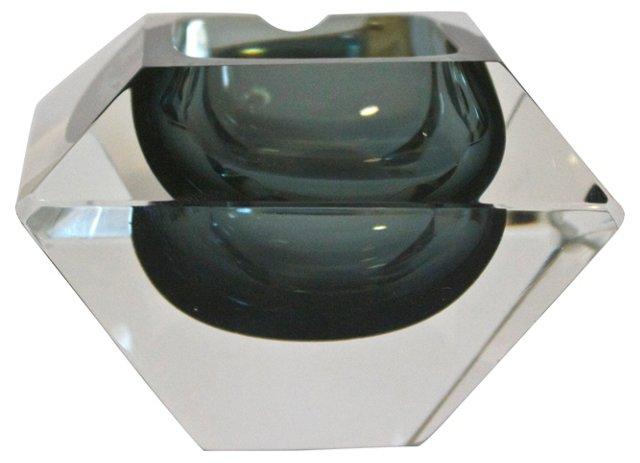 Midcentury Gemstone-Style Ashtray