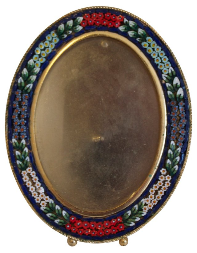 Oval Micromosaic Frame