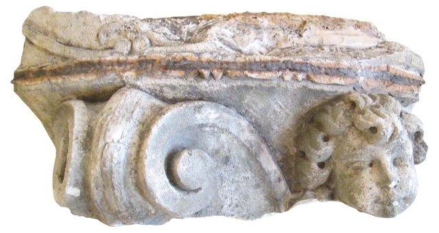 European Cherub Fragment