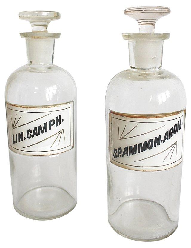 Apothecary Bottles, ca. 1910