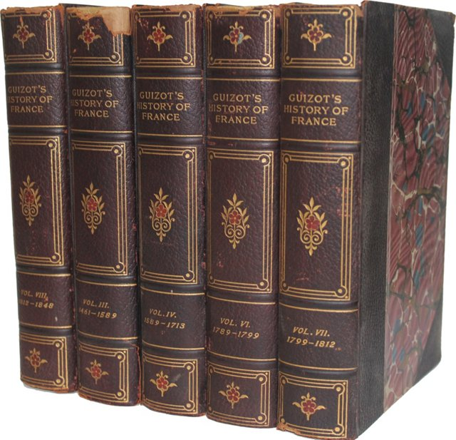 Guizot's History of France, 5 Vols
