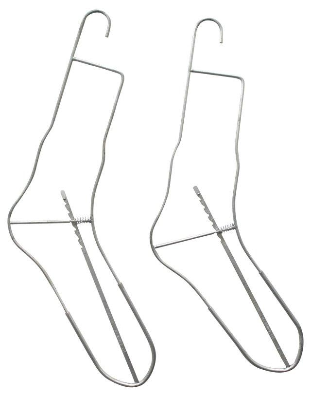 Sock Drying Hangers, Pair
