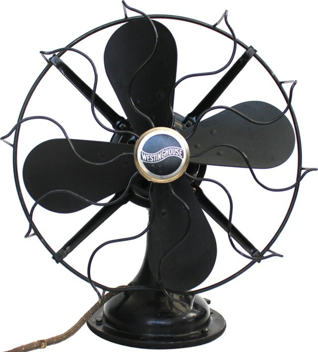 1900s Westinghouse Fan