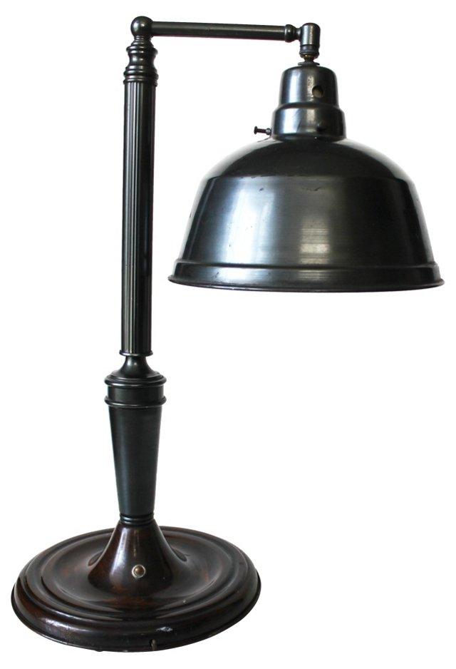 Articulating Jeweler Table Lamp, C. 1930
