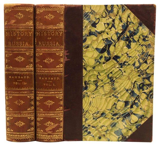 History of Russia, 2 vols