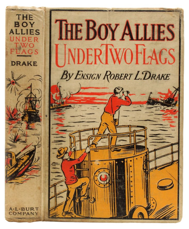 The Boy Allies Under Two Flags, 1915