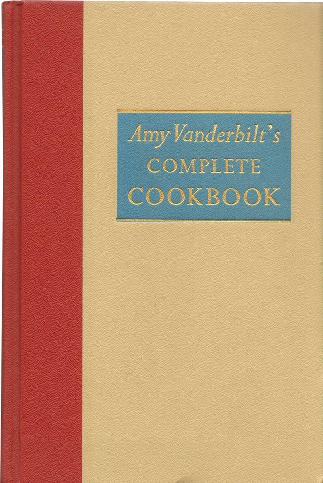 Vanderbilt's Complete Cookbook, 1961