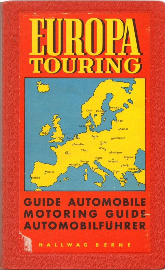 Europa Touring: Motoring Guide, 1957