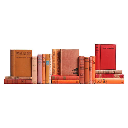 Sunset Children's Bookshelf, S/20