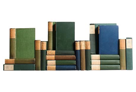 Antique Green & Blue Classics, S/21