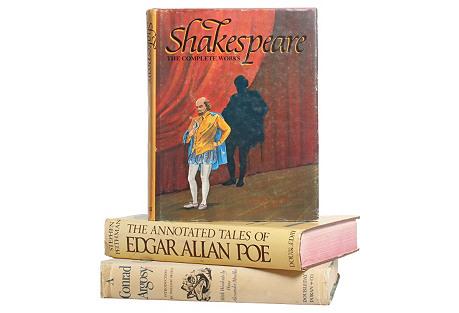 Classics Book Stack, S/3