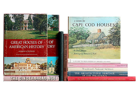 Early American Homes, S/10