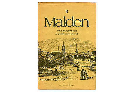 Malden Massachusetts, signed