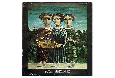 Yosl Bergner Paintings 1963-68, signed