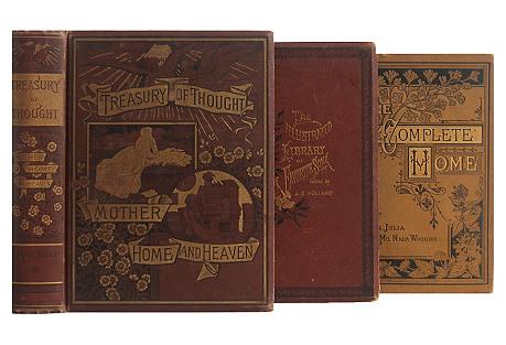 Antique Trio:Domestic Vignettes, S/3