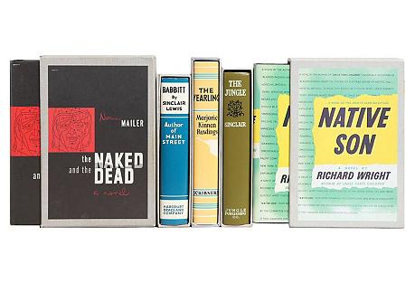 Retro Classics Book Stack, S/5
