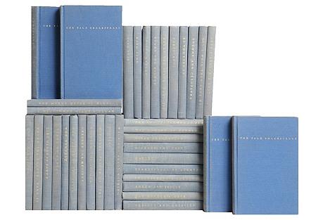 Blue Pocket-Sized Shakespeare, S/37