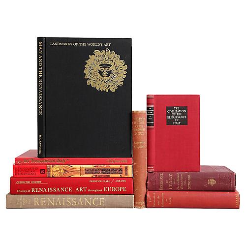 Italian Renaissance Books, S/9