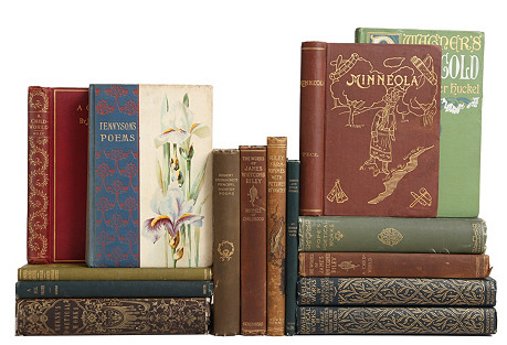 Gilded Antique Poetry Classics, S/15